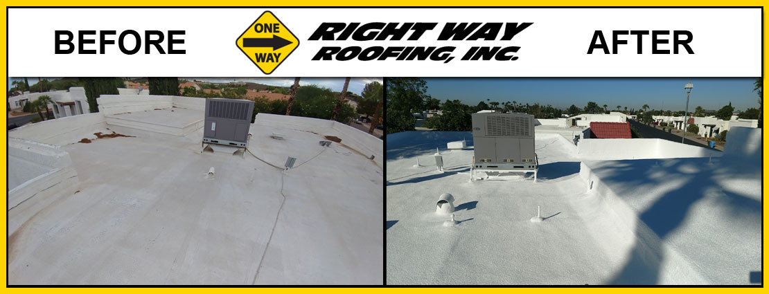 Before & After Commercial Roof Repair