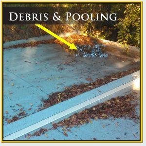 Roof Debris & Pooling