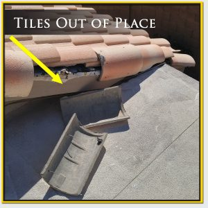 Roofing Tiles Out Of Place
