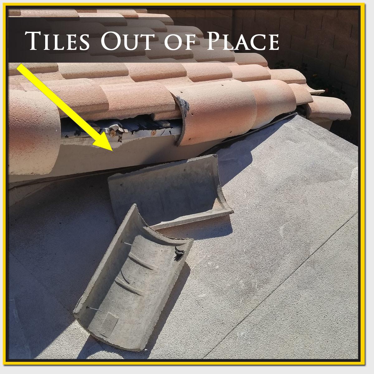 Roof Tile Replacement & Repair Mesa