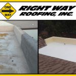Before & After Flat Roof Repair