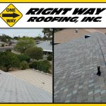 Before & After Shingle Roof Replacement
