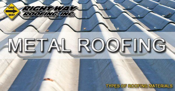 Metal Roofing Material Type - Types Of Roofing Materials