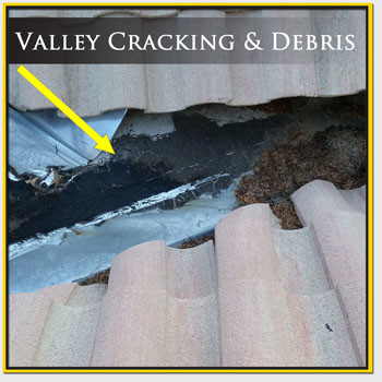Roof Valley Crack Repair Mesa