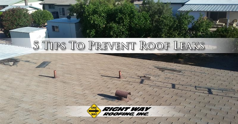 5 Tips To Prevent Roof Leaks