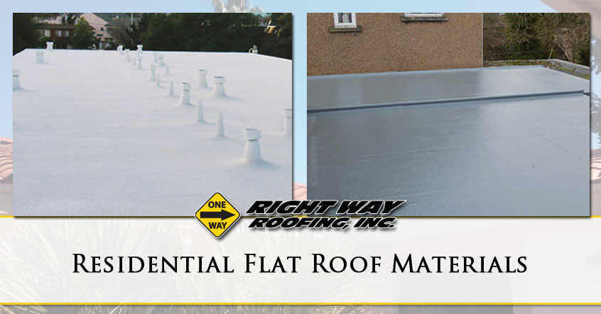 Residential Flat Roof Materials