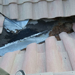 Tile Roof Problem - Dead Valley Cracking