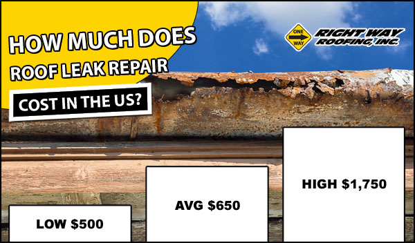 Roof Leak Repair Cost