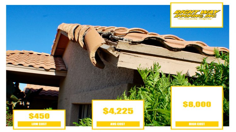 Tile Roof Repair Cost Payson